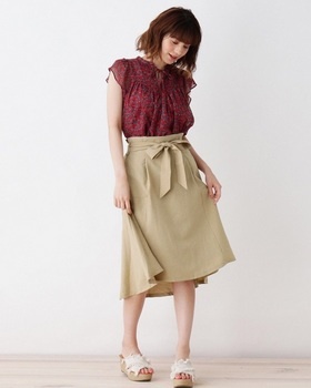 ウエストリボンベルトスカート6.jpg