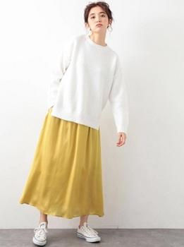 サテンギャザースカート4.jpg