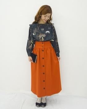 テラコッタカラースカート1.jpg