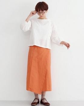 テラコッタカラースカート3.jpg
