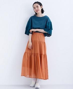 テラコッタカラースカート5.jpg