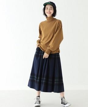 ビックチェックロングスカート2.jpg