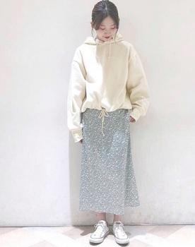 フラワープリントスカート6.jpg