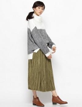 ベロアプリーツスカート1.jpg