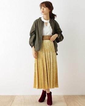 ベロアプリーツスカート7.jpg
