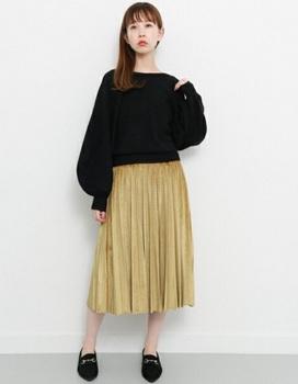 ベロアプリーツスカート8.jpg