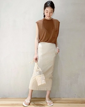 リネンロングタイトスカート1.jpg
